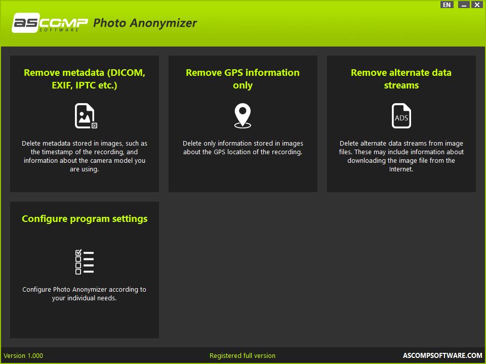 Photo Anonymizer full screenshot